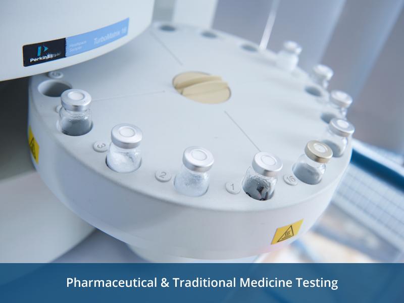 Pharmaceutical & Traditional Medicine Testing