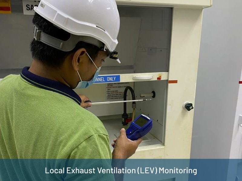 Local Exhaust Ventilation (LEV) Monitoring